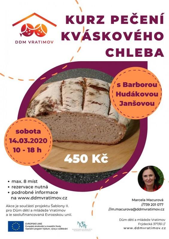 Novinka Kváskový chléb 03/2020 DDM
