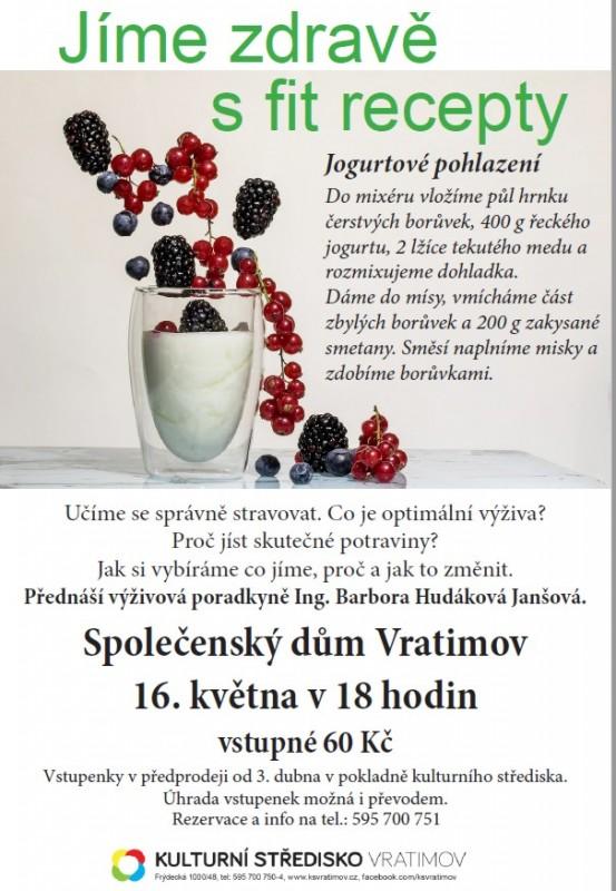 Novinka Přednáška výživa Vratimov16.5.2018