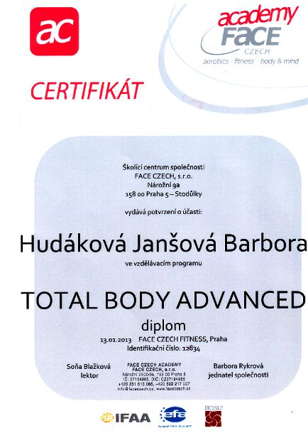 Total body advanced